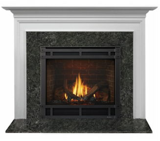 Richmond stone mantel demo
