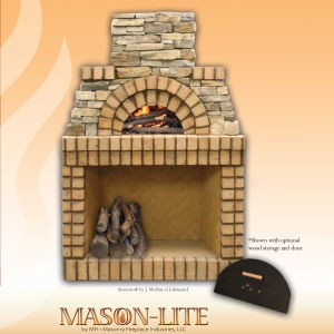 MASON LITE PIZZA OVEN WITH LOGO