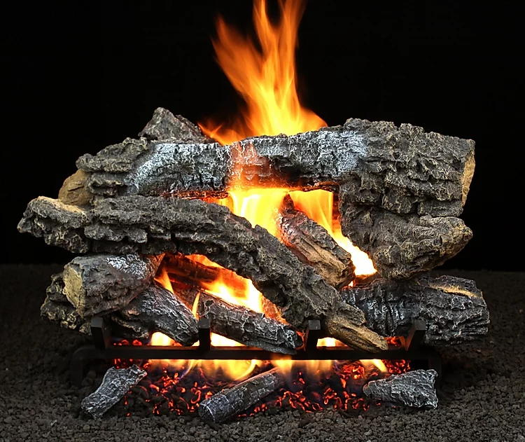 Hargrove Canyon Timbers Vented gas log