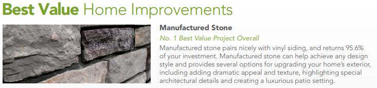 Stone Value informational banner
